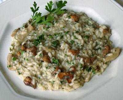 La nostra ottima ricetta del risotto ai funghi porcini